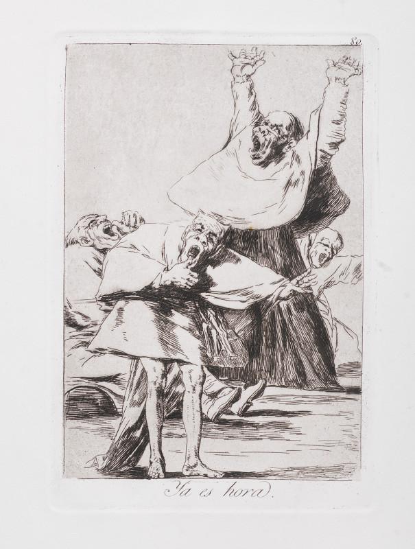 """It is Time"" (c. 1799), Francisco Goya"