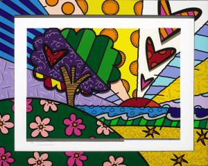 Romero Britto art