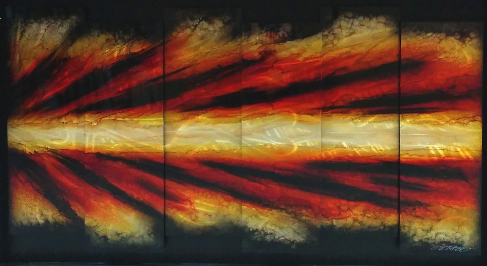 Chris DeRubeis metal art