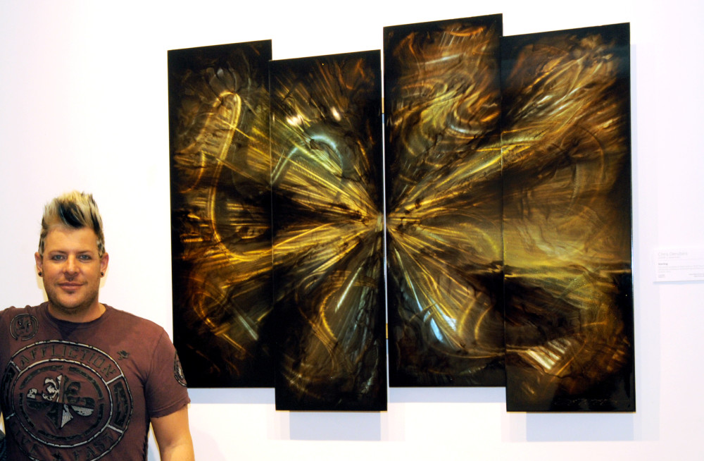 Chris DeRubeis on creating silver, copper metal art - Park West Artists