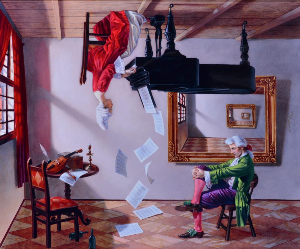 Dye Sublimation Michael Cheval Park West Gallery
