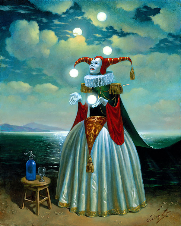 absurd art dye sublimation Michael Cheval