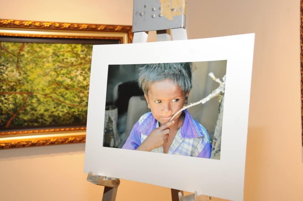 Brenda Lawrence art Park West Gallery