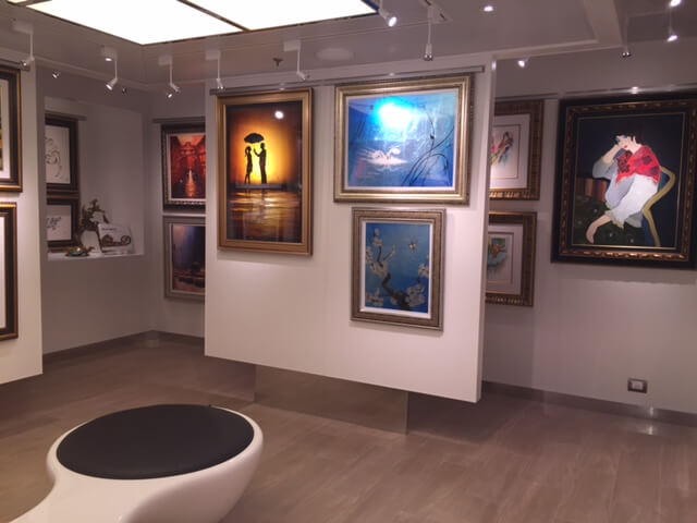 Koningsdam Park West Gallery