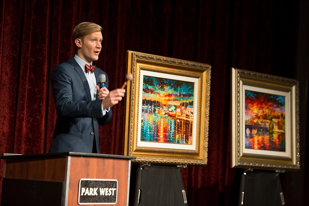 Cruise Advice Explores Art Auctions With Park West Gallery Park West Gallery