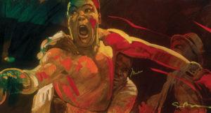 Simon Bull Muhammad Ali Park West Gallery