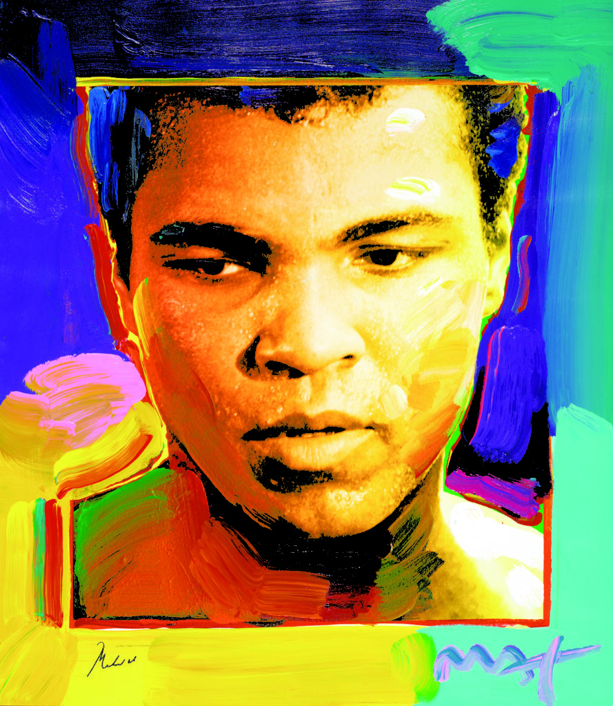 Muhammad Ali Peter Max Park West Gallery