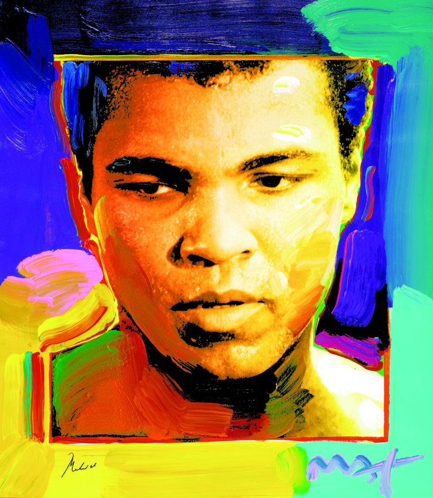 Muhammad Ali Peter Max Park West Gallery