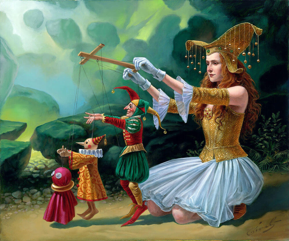 6 Michael Cheval Artworks Explained By The Artist Park