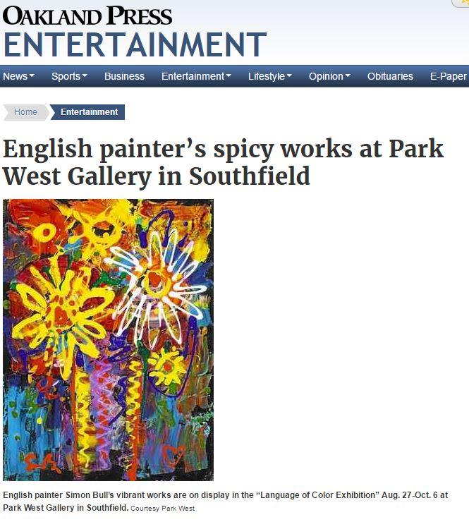 Simon Bull Park West Gallery