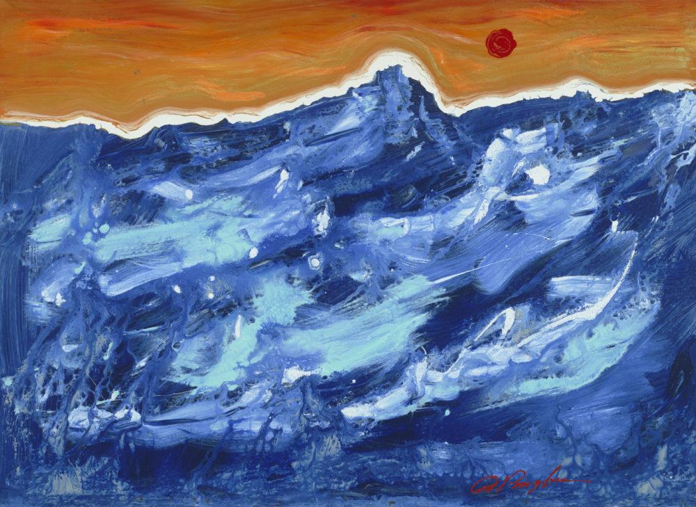 """Orange Horizon"" (2013), Dominic Pangborn"