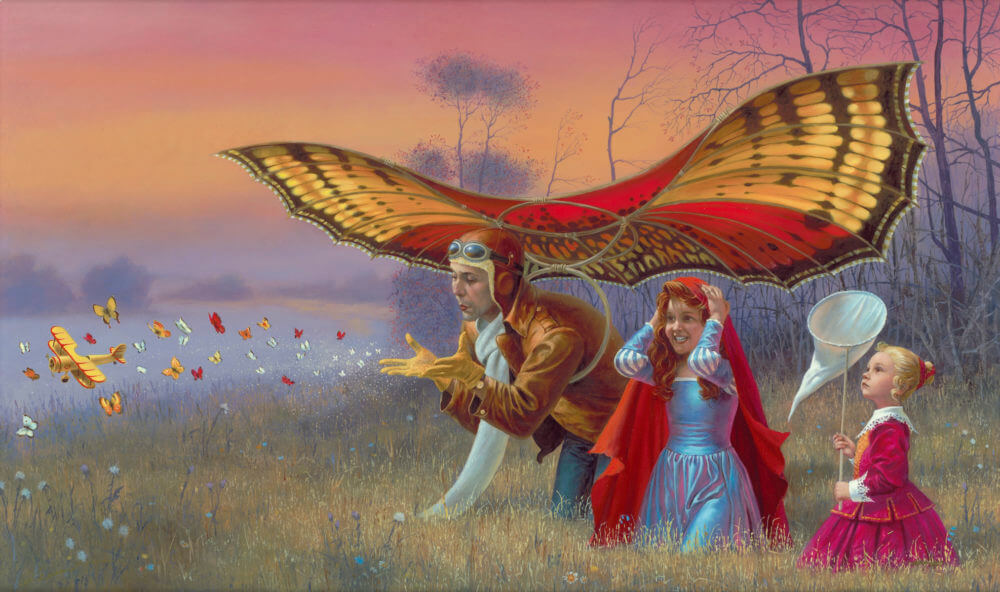 """""""Promises of the Parting Summer"""" (2016), Michael Cheval"""
