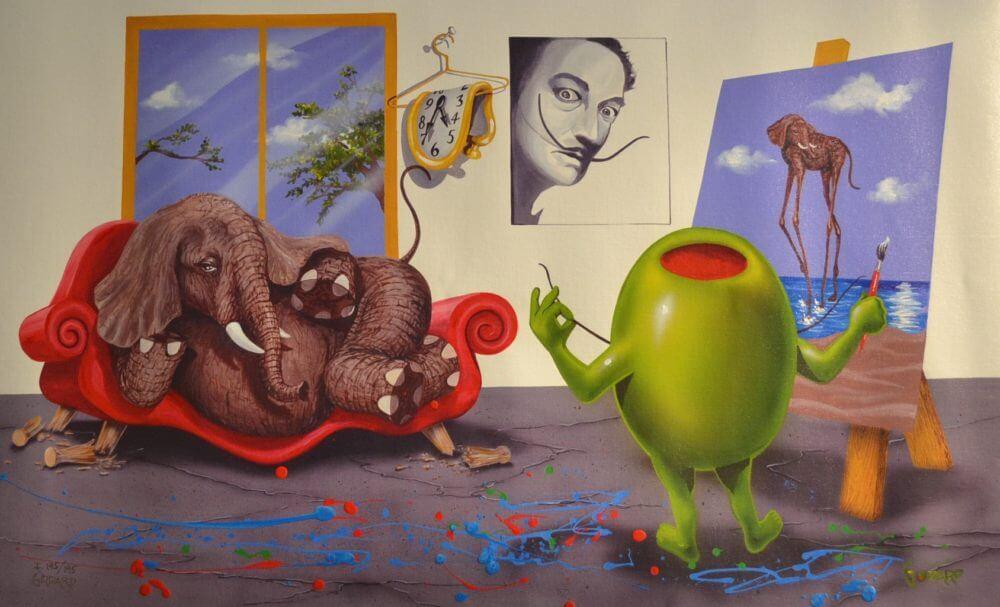 Dali Michael Godard Park West Gallery