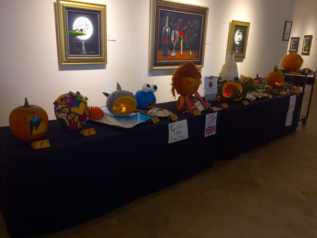 Park West Gallery pumpkin contest 2016