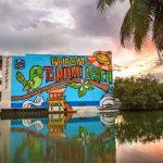 Lebo Miami Beach mural Park West Gallery