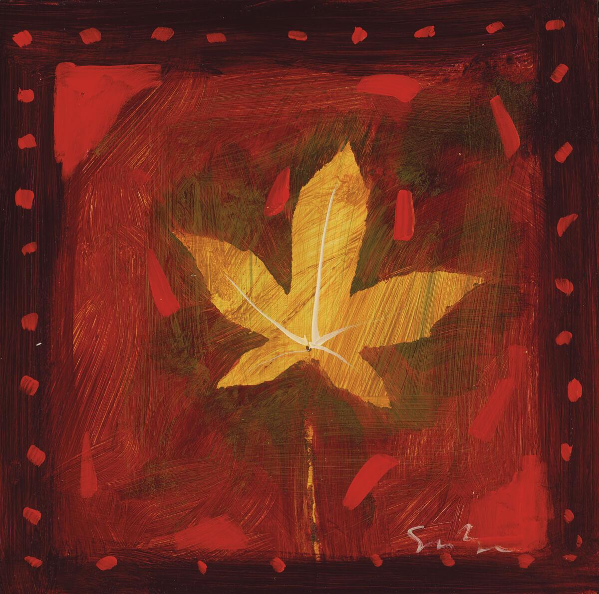 """Falling Leaves Series I - III"" (2007) Simon Bull"