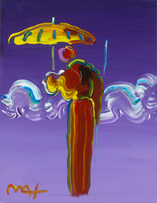 Sage with Umbrella and Cane Peter Max Park West Gallery