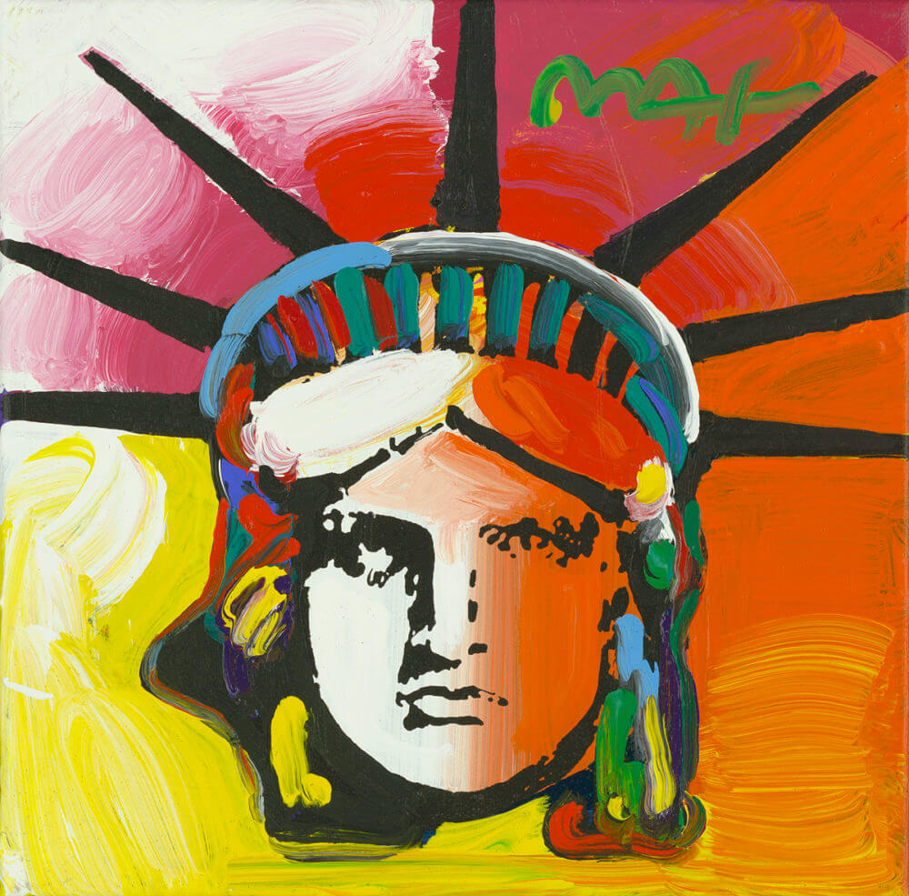 Liberty Head Peter Max Park West Gallery