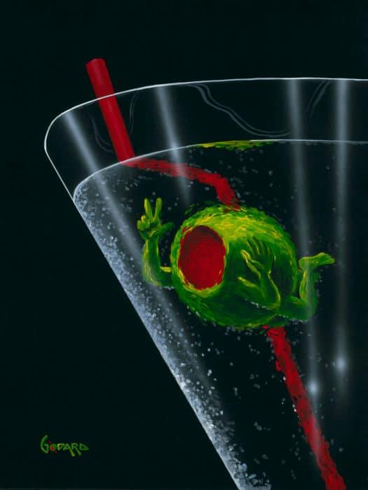 Michael Godard Let's Drink 7