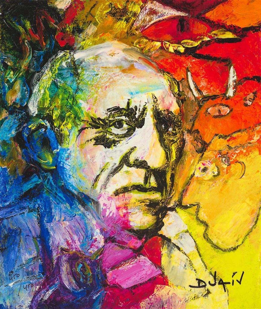 """""""Picasso Au Noir Regard,"""" Duaiv"""