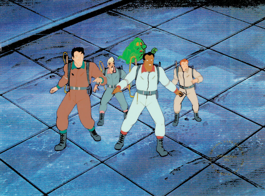 """""""Ghostbusters: The Team"""" (1986) Columbia Pictures Television"""