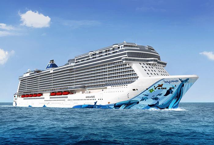 Norwegian Cruise Line Building Bliss For Alaska Cruises