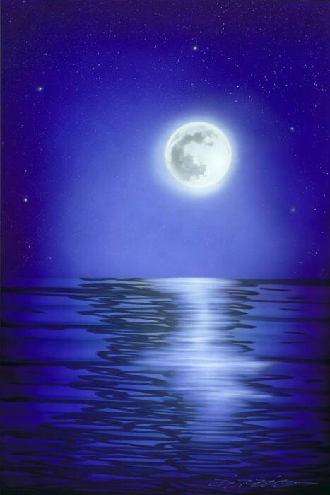 Blue Moon Chris DeRubeis Park West Gallery