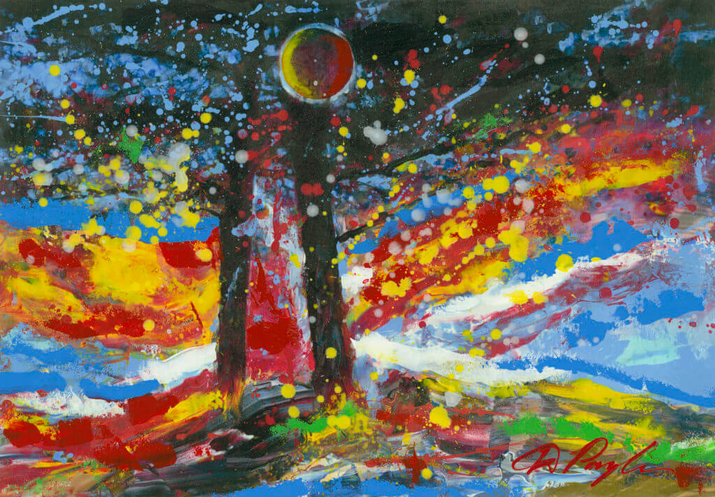 """Among the Trees"" (2015) Dominic Pangborn"