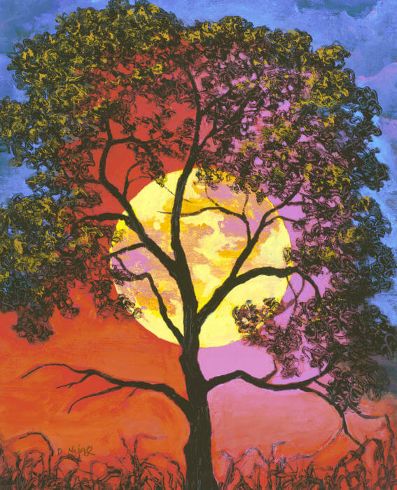 How Often Is The Super Moon >> Celebrating the Supermoon with Lunar Art - Park West Gallery