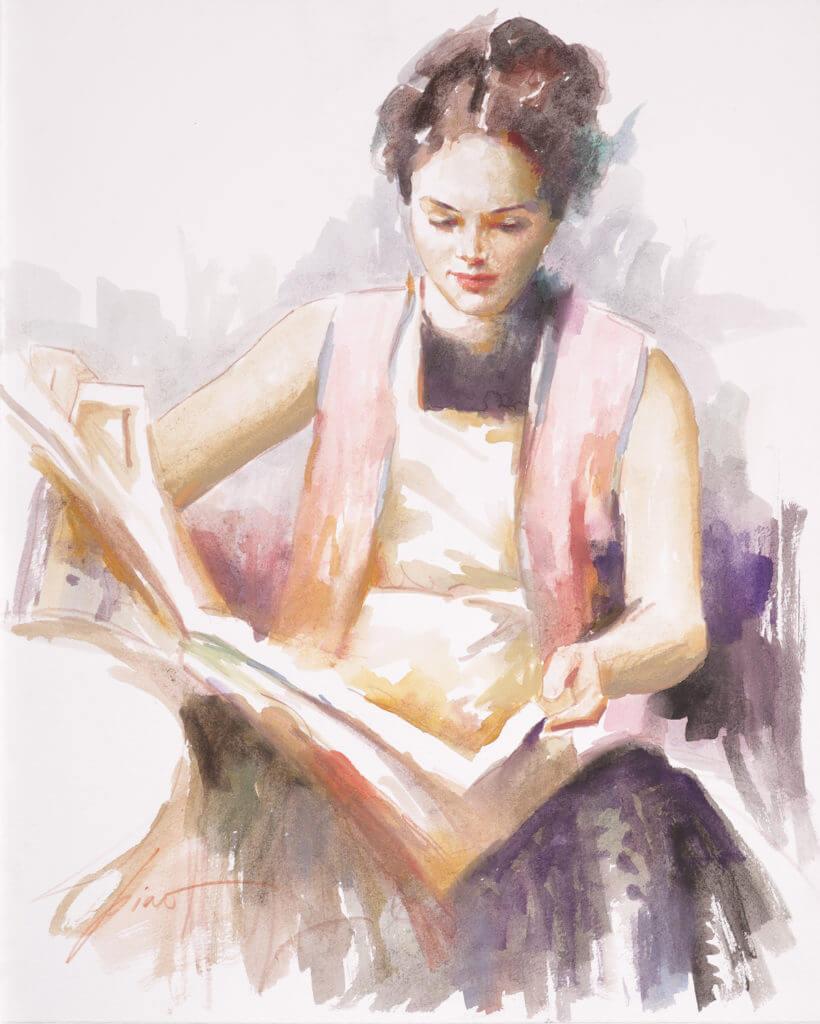 """Original Pino Drawing: Untitled"" (2009) Pino"