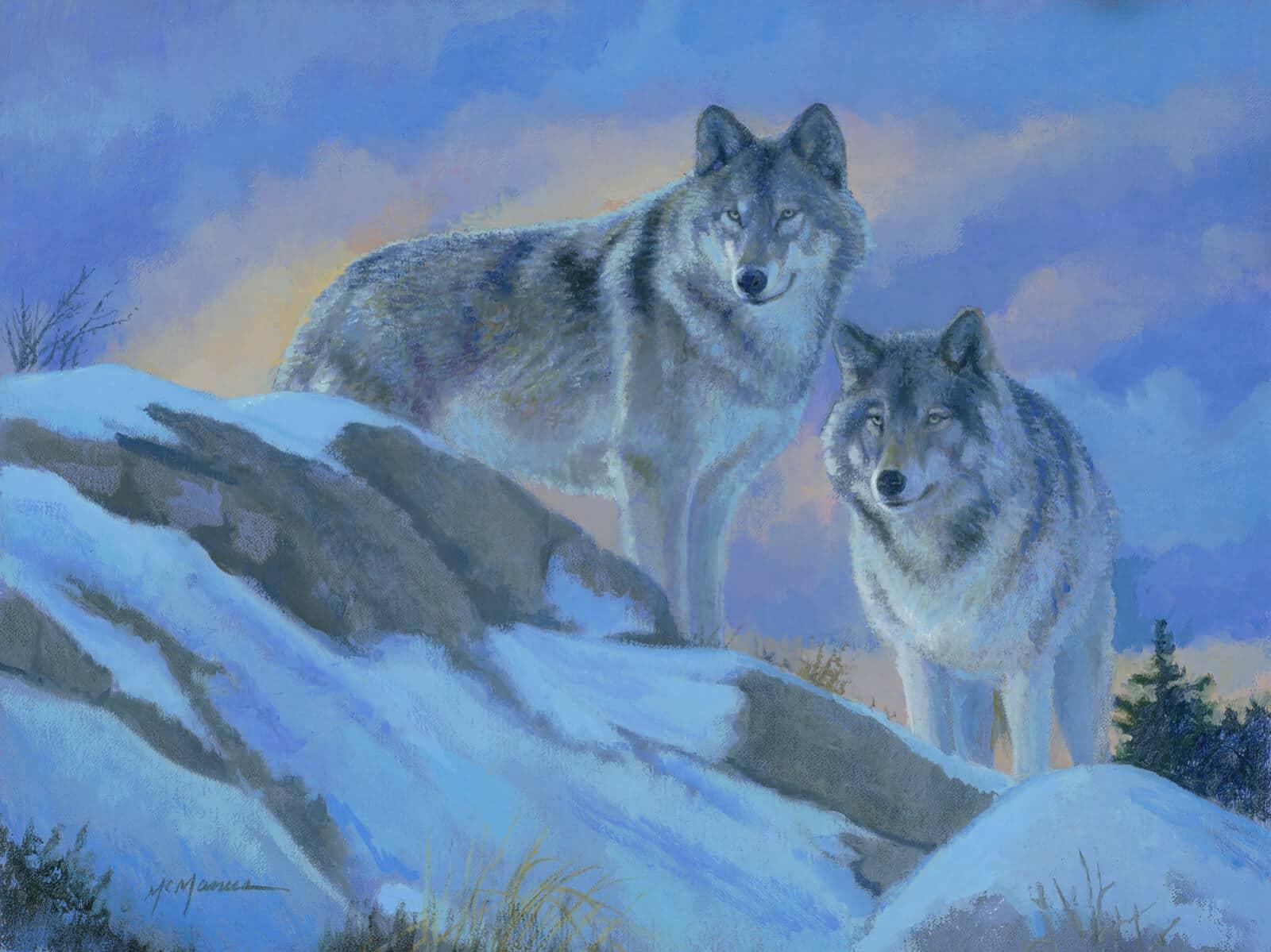 Behind The Wildlife Paintings Of Pat Mcmanus Park West