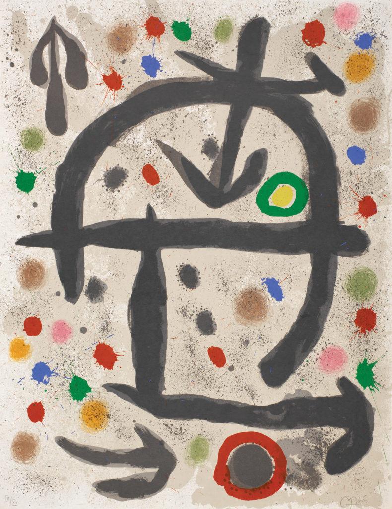 """""""Les Perseides V"""" (1970) Joan Miro"""