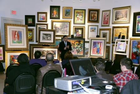 "Park West Gallery Director David Gorman leads ""400 Years of Art Seminar"""