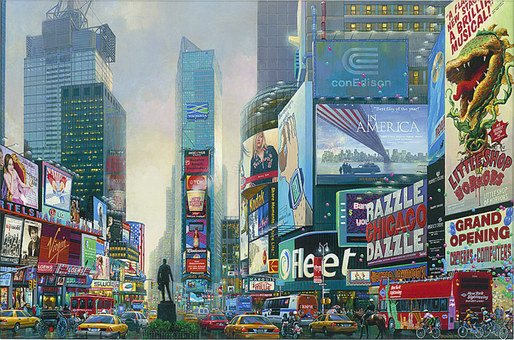 Times Square South 2015 Alexander Chen