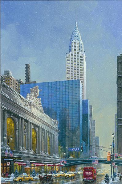 Chrysler Building 2015 Alexander Chen