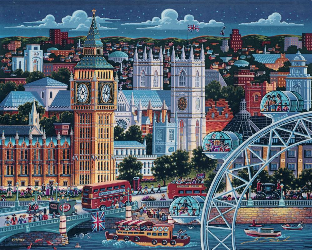 London Eric Dowdle Park West Gallery