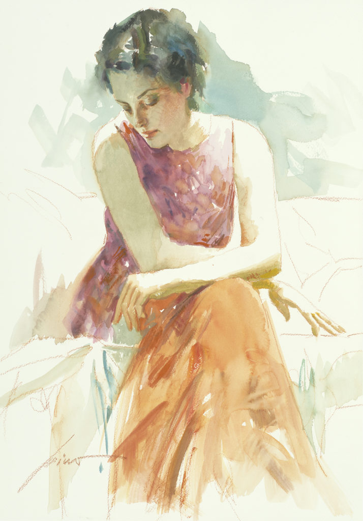 Original Pino Mixed Media Drawing: Untitled #13 (2009)