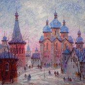 Russia Red Sunset 2016 Anatole Krasnyansky Park West Gallery
