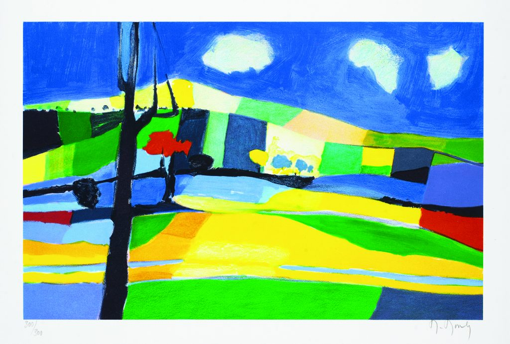 Le Vallon aux Trois Nauges 2007 Marcel Mouly Park West Gallery