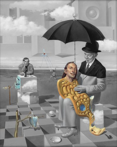 Lullaby of Uncle Magritte Michael Cheval Park West Gallery