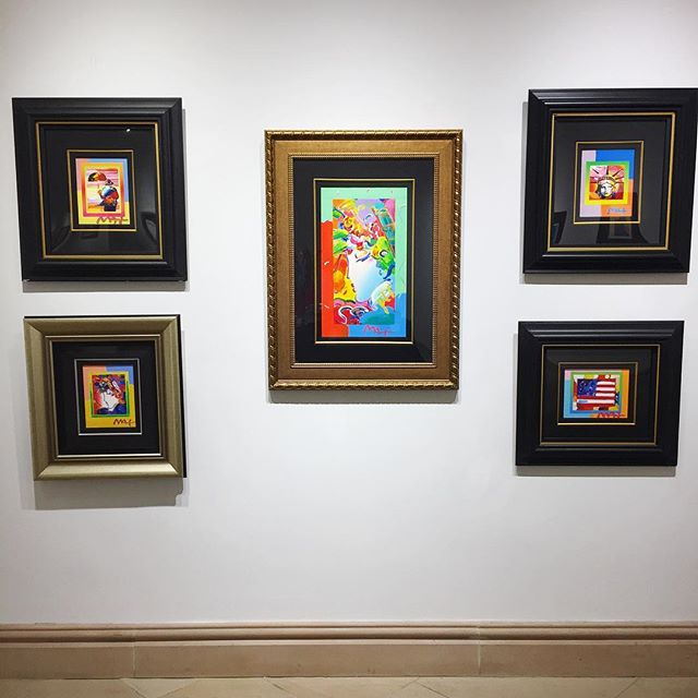 Peter Max Park West Gallery Valentine's Day