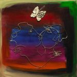 Butterfly Kiss Mark Kanovich Park West Gallery
