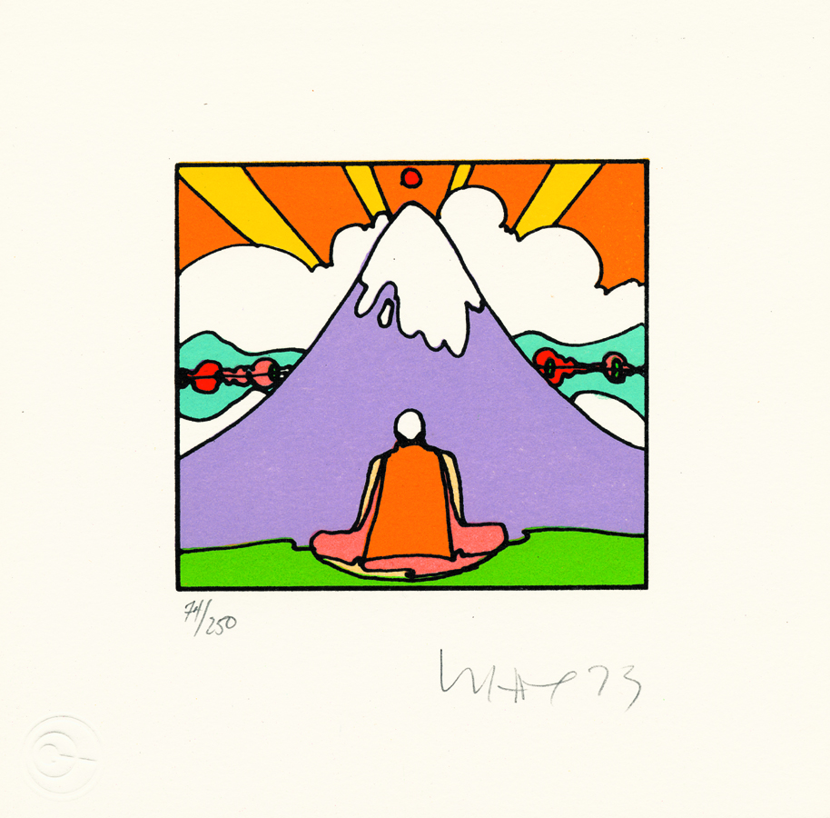 Sage by Mountain Peter Max