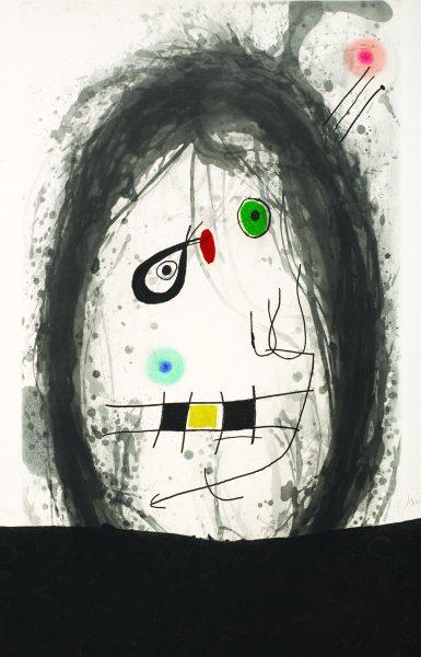 Joan Miro L'Exile Noir Park West Gallery