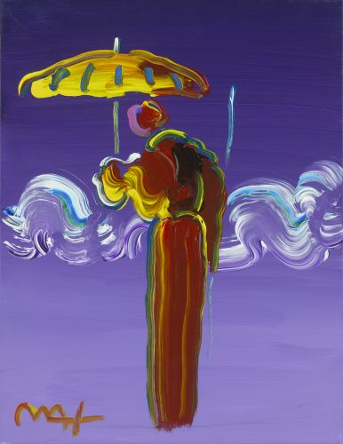 Sage with Umbrella and Cane Ver. V Peter Max Park West Gallery