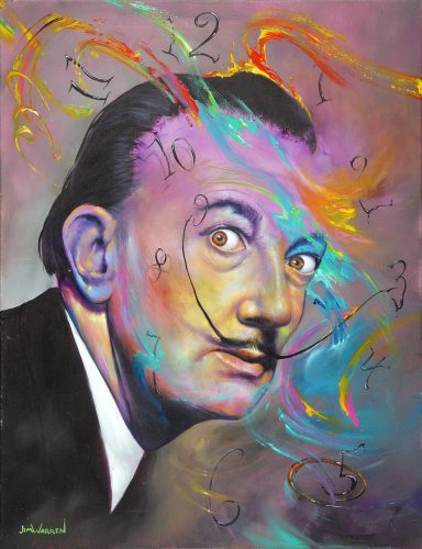 Jim Warren Dali A Man of His Own Time Park West Gallery