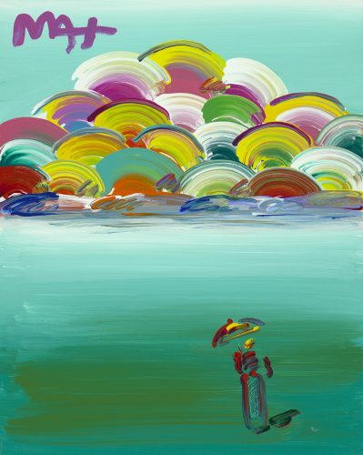 Image of an Era: Sage Ver. IV Peter Max Park West Gallery