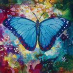 Simon Bull Blue Morpho Park West Gallery
