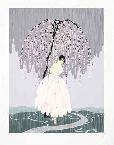Blossom Umbrella Erte Park West Gallery