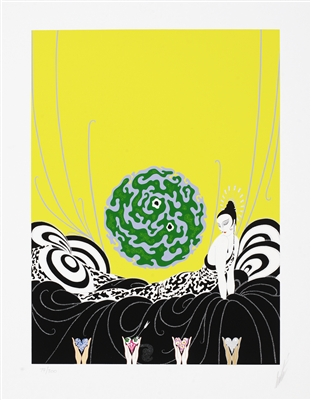 Selection of a Heart Erte Park West Gallery